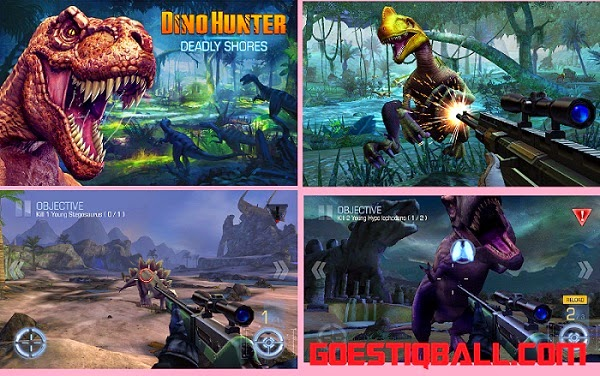 Image Result For Dino Hunter Deadly Shores V Apk Mod Unlimited Money For Android