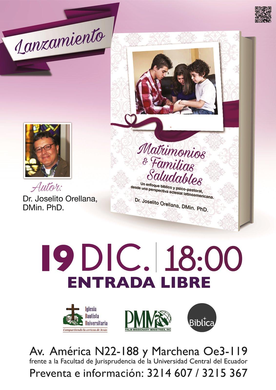 Invitación presentación de mi libro