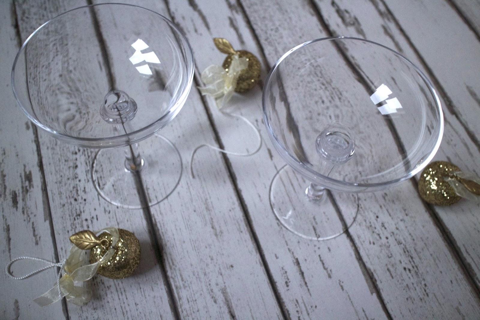 oliver bonas champagne saucers