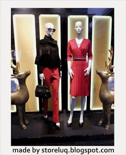 Visual merchandising, Windows display in Berlin, Christmas window