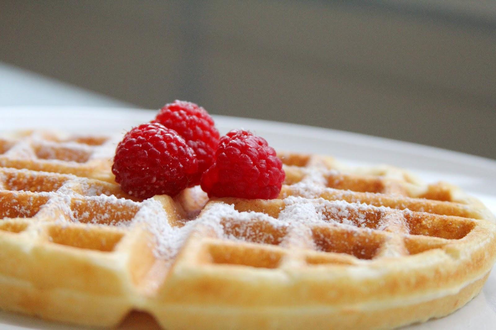 Sugar Boles: Classic Waffles from Scratch