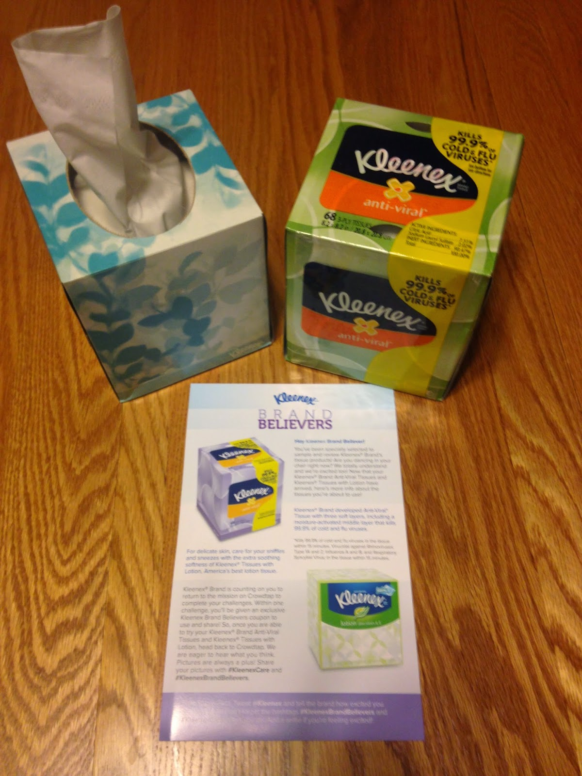 steph s mn life kleenex brand tissues crowdtap review