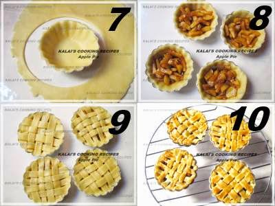how to make mini apple pies from scratch