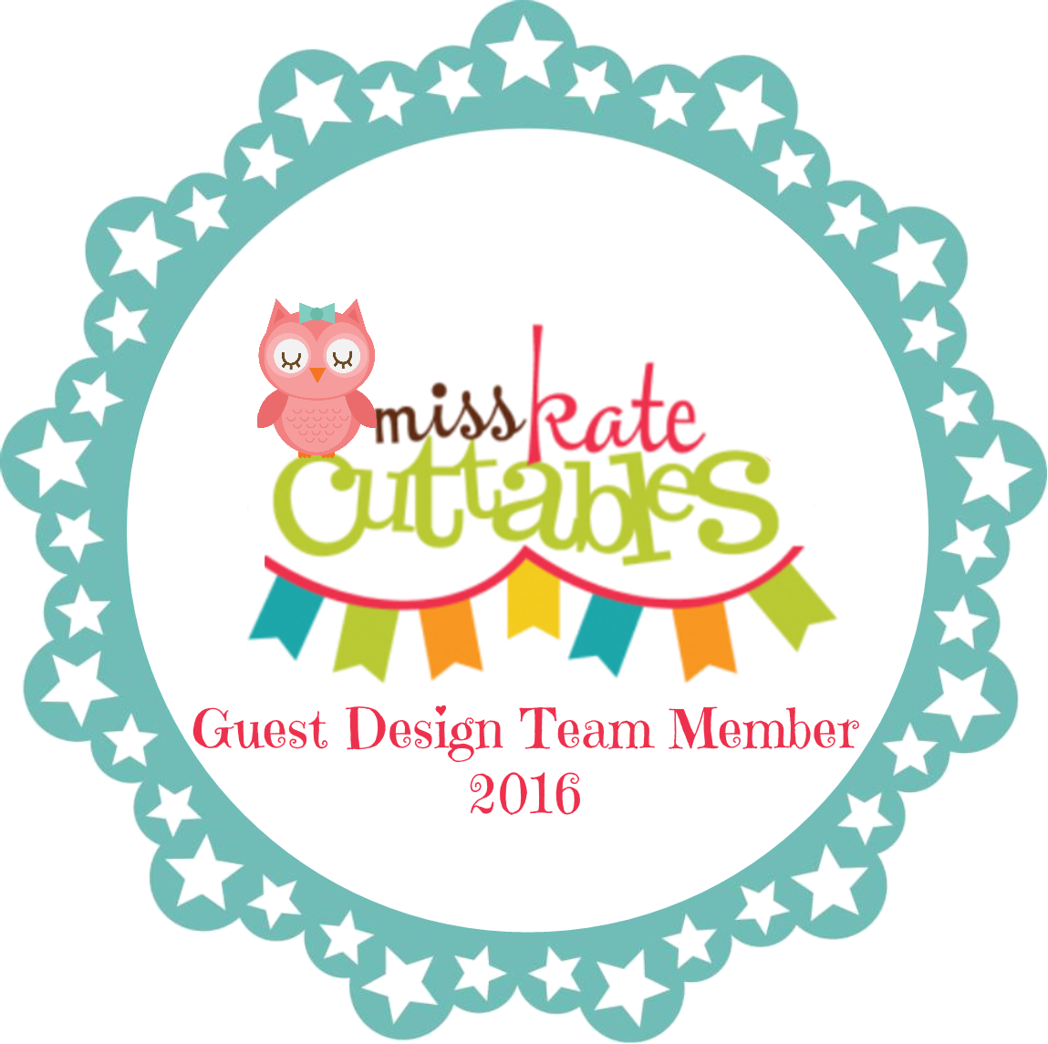 Miss Kate Cuttables - Guest Designer on Januari 29th 2016
