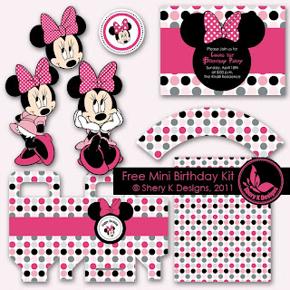 designed this kit for my daughter's 1st birthday party and I'd like