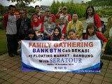 Family Gathering di Floating Market Lembang