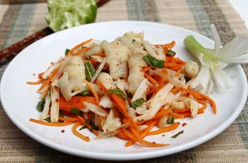 Salad Lotus Roots with Chicken Legs - Nộm Chân Gà Ngó Sen