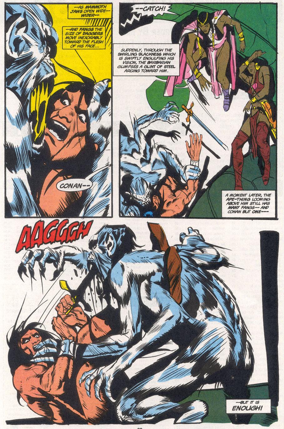 Conan the Barbarian (1970) Issue #265 #277 - English 21