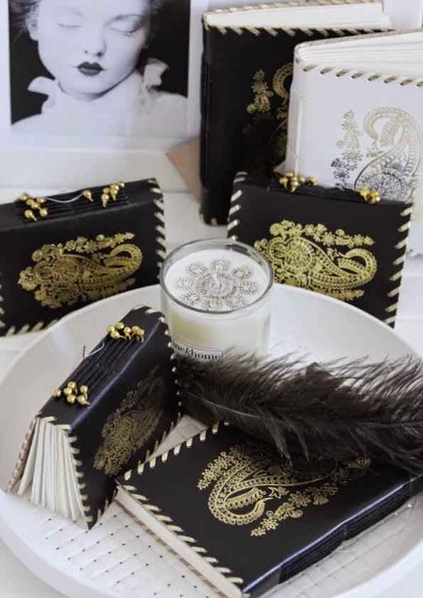 Notesy handmade oprawione w skórę