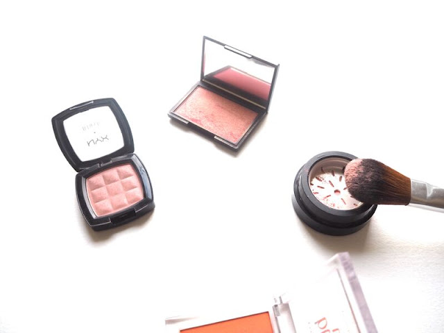 Top 5 Drugstore Blushes, nyx, sleek, essence, body shop, suade, rose gold, blusher, affordable, boots