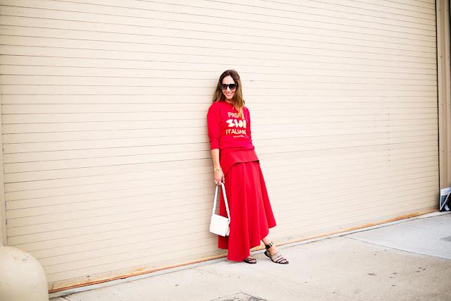 Faldas largas street style