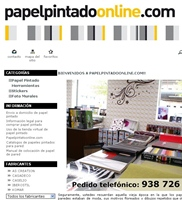 Tienda Papel Pintado