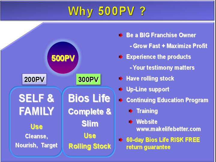 500PV, Mengapakah?