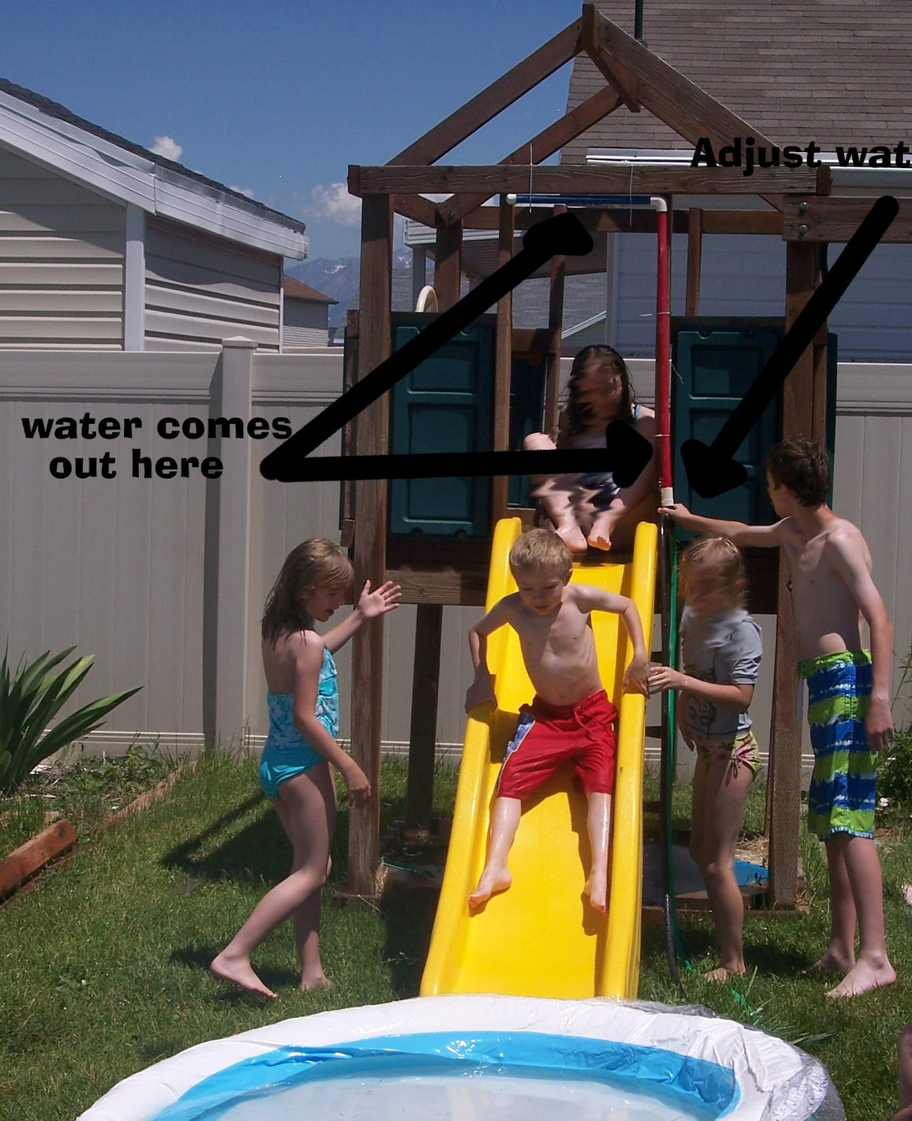 come out when you u0027re happy how to turn your backyard slide into a