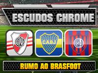 Escudos Chrome para campeonato argentino no Brasfoot 2013