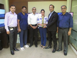 Fortis Escorts Heart Institute awarded Golden Globe Tigers Award