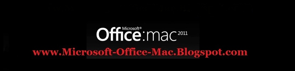 Microsoft Office for Mac 2011 Activation