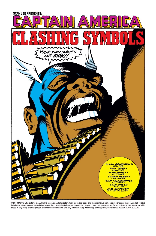 Captain America (1968) Issue #327 #256 - English 2
