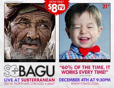 Event: St. Bagu at Subt Dec. 4th