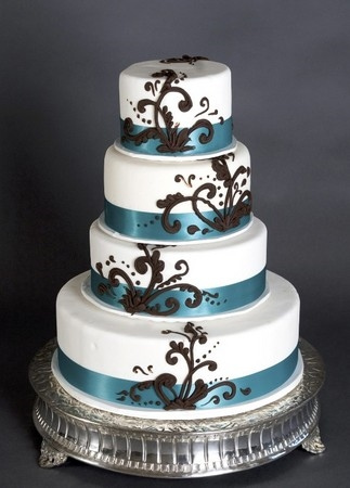 Round Cake Design Ideas : Mt s blog: Autumn themed wedding cakes Rich colors and ...