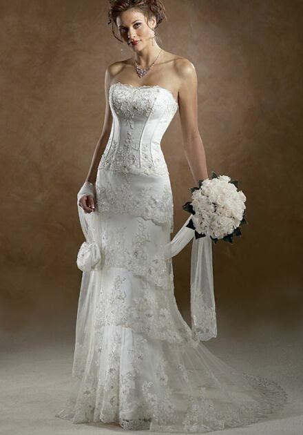 older women's bridal gowns