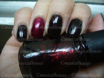 China Glaze Lubu Heels Color Club Perfect Plum