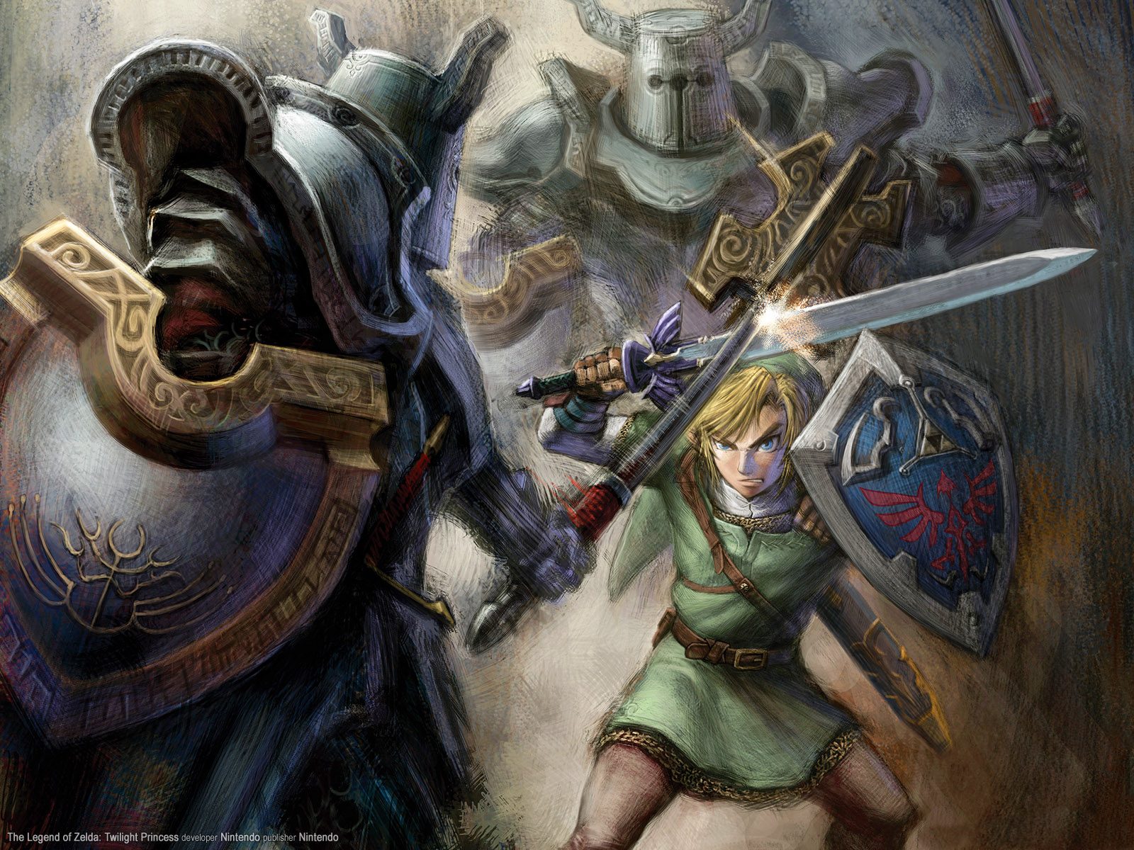 Background image vs img - The Legend Of Zelda Twilight Princess Link Fighting Knights Wallpaper Background Nintendo Img Image Picture Pic