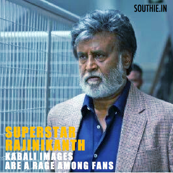 rajinikanth kabali latest images are sensational and superb southie