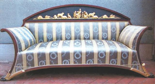 Joseph Ulrich Danhauser sofa