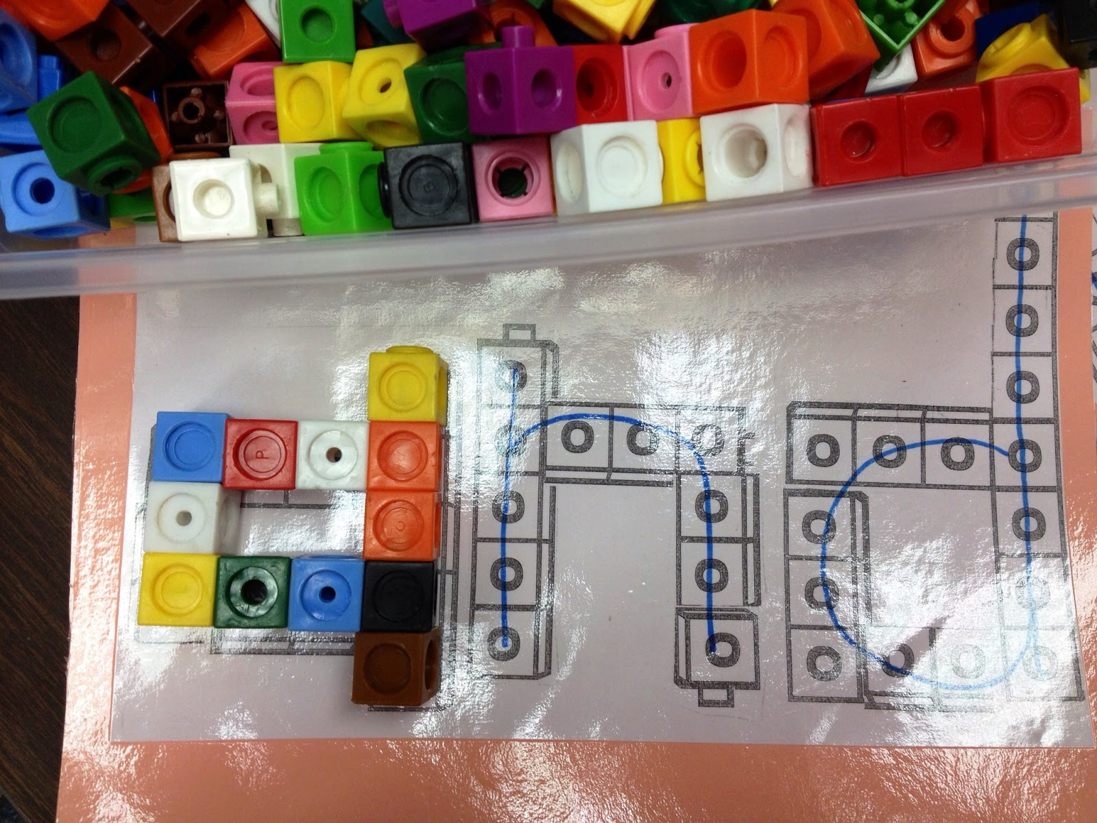 Sight Word Blocks Literacy Center Sight Word