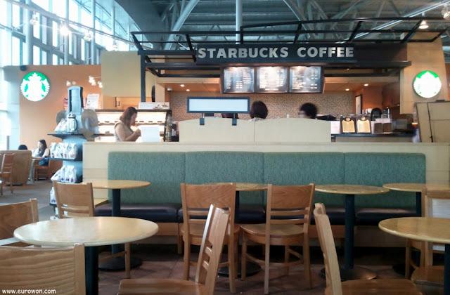 Cafetería del aeropuerto de Busan