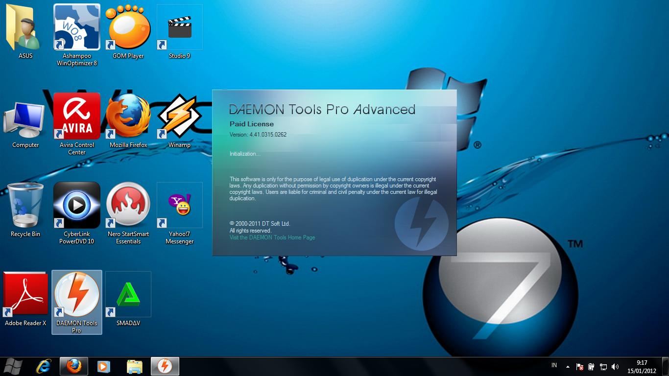 Daemon tools pro advanced 4.41 0314.0232