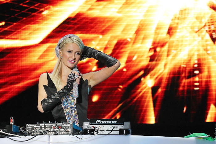 Paris Hilton  DJing in Sao Paulo, Brazil