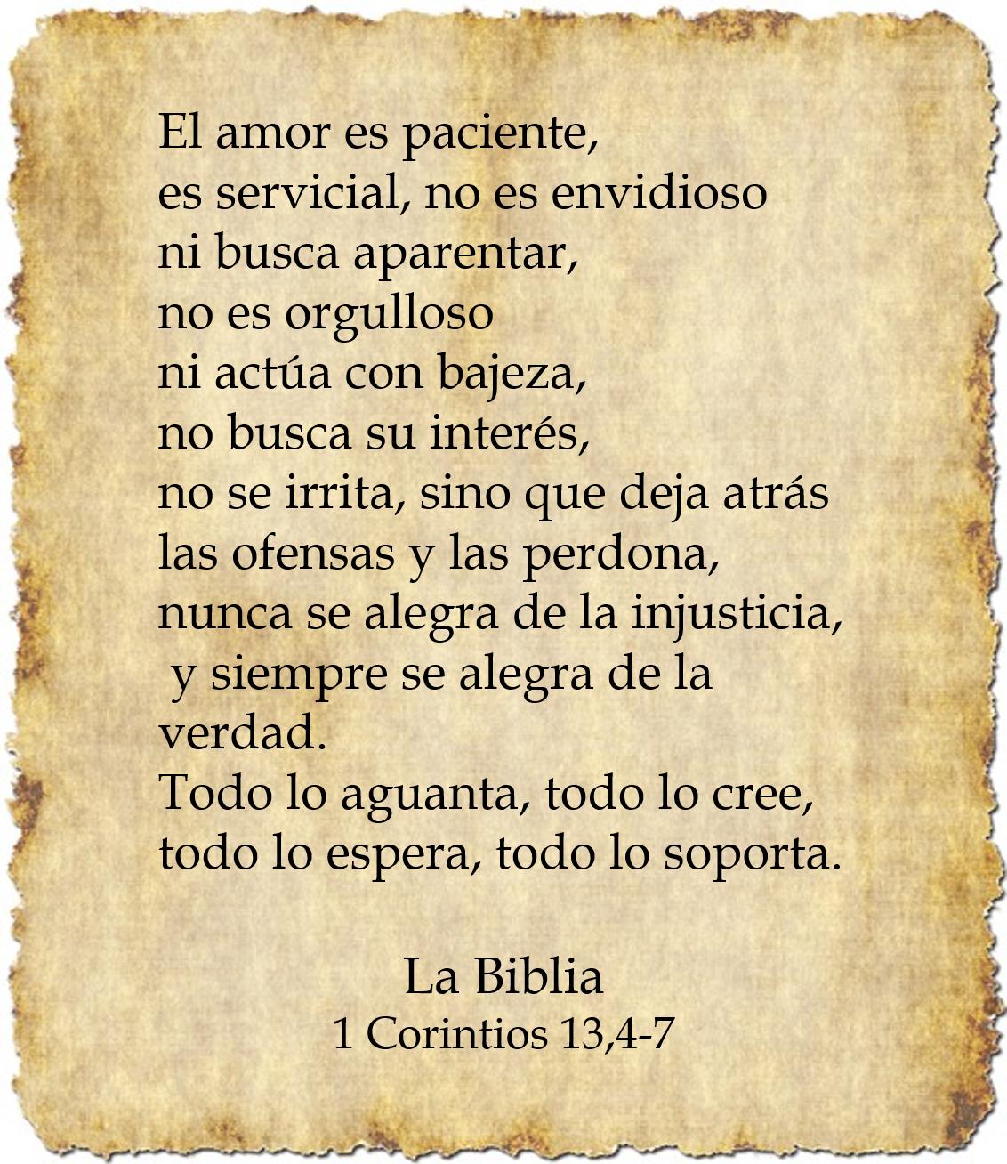 Pan para el Espíritu: Mensaje Bíblico: El amor es