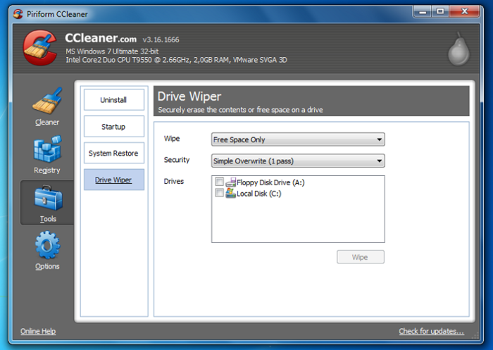 ccleaner latest version