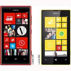 Nokia Lumia 720 dan 520 Hadir di Indonesia 3 Mei 2013