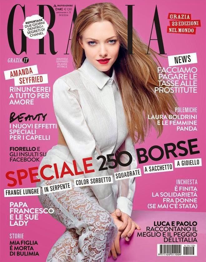Amanda Seyfried - Grazia Magazine Italy, March 2014