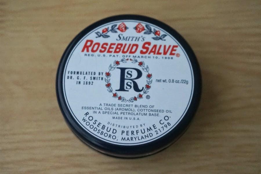 Rosebud Salve in a tin