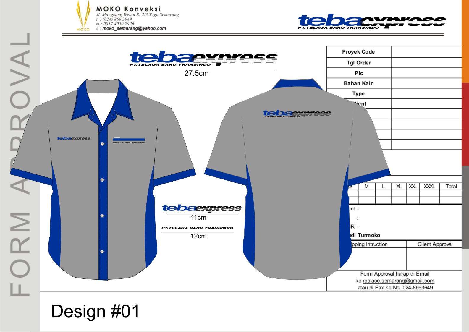 Baju Seragam TEBA EXPRESS - SMG