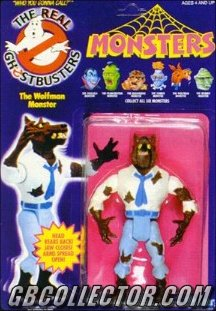 Kenner REAL Ghostbusters Monsters The Wolfman Figure