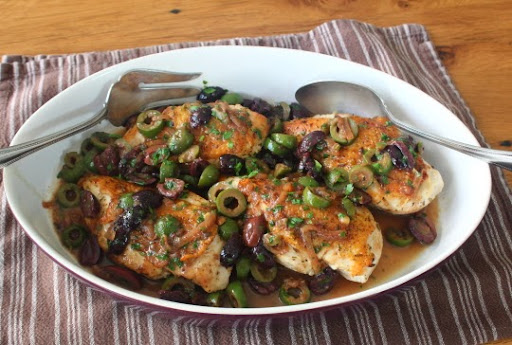 Food Wishes Video Recipes Chicken And Olives Shaken And Stirred