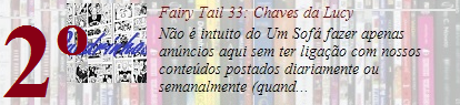 Fairy Tail 33: Chaves da Lucy