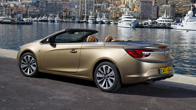 Vauxhall Cascada Convertible back side