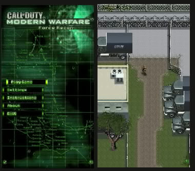 Call of Duty Modern Warfare Force Recon for nokia S60 v5