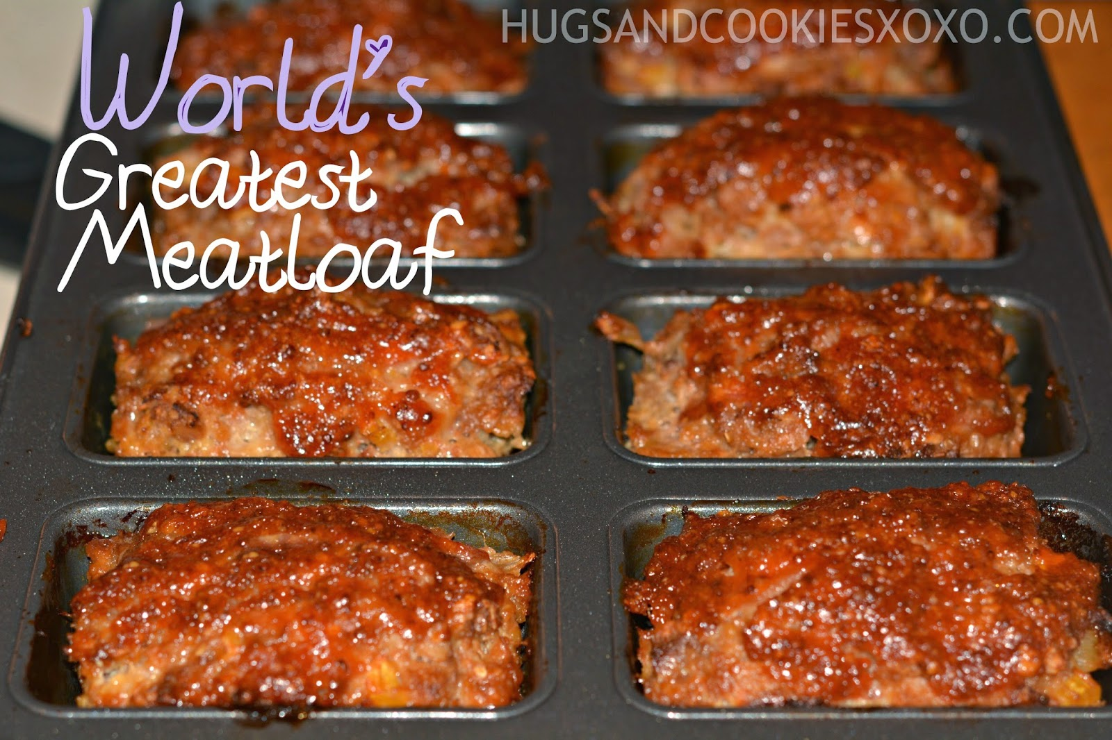 This is the best meatloaf ever!! Thanks for the recipe, Mom!!!!