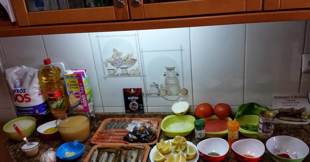 arroz marinero con navajas la cocina tradicional de