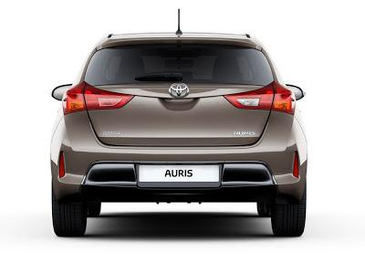 Toyota Auris vedere din spate