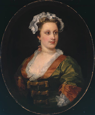 William Hogarth - Lavinia Fenton, Duchess of Bolton c.1740-50