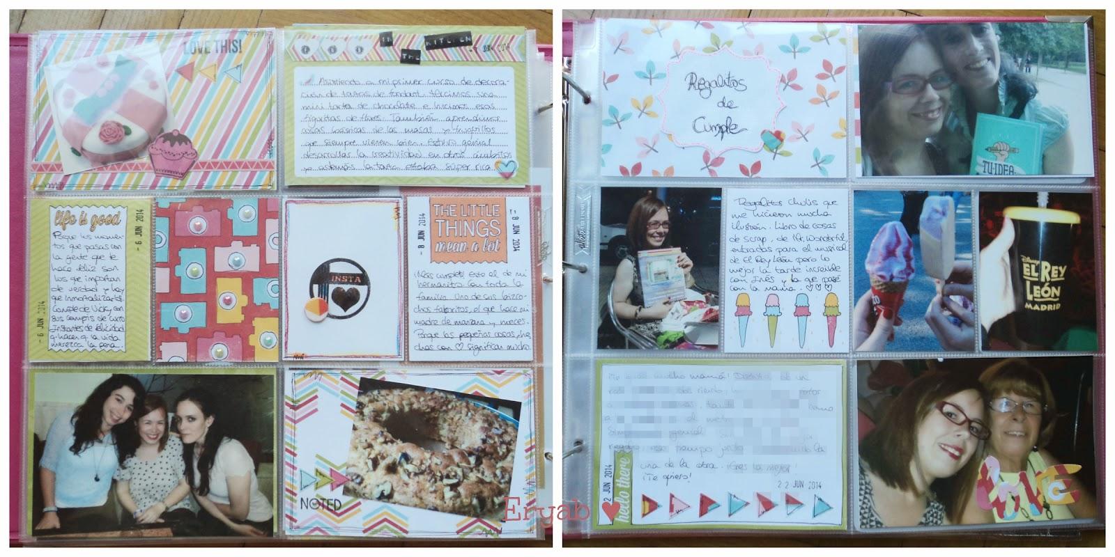 páginas project life junio