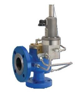 pilot operated pressure relief valve